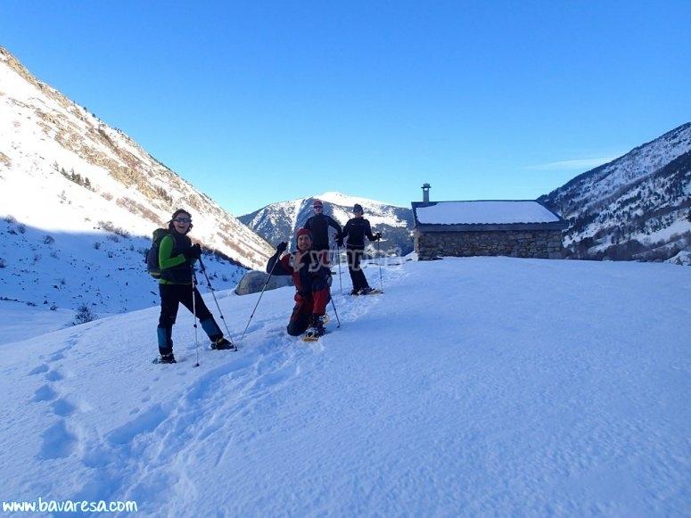 Raquetas de nieve en La Cerdanya o Bergueda