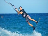 Prueba en Tarifa el kitesurf
