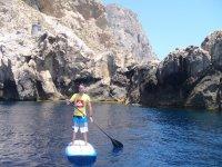 在Somo-Pad-桨冲浪课程