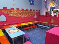 Mesas y banquetas