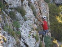 练习山地活动
