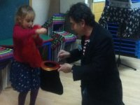 Helping the magician