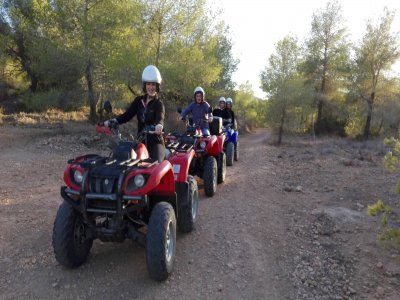 Quad + Jet Ski + Kayak for Couples, Denia