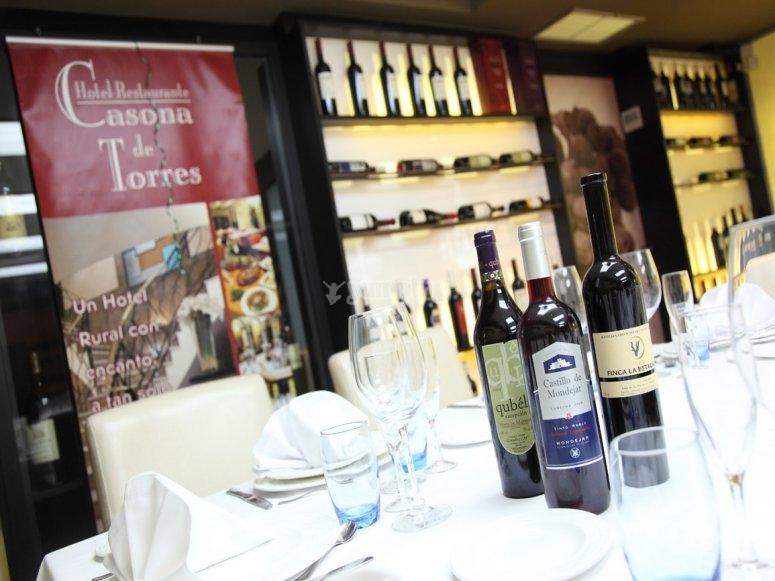 Wines room