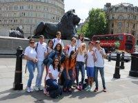 Trafalgar Square con CIB