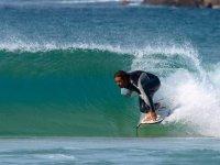 Surfista a El Cotillo