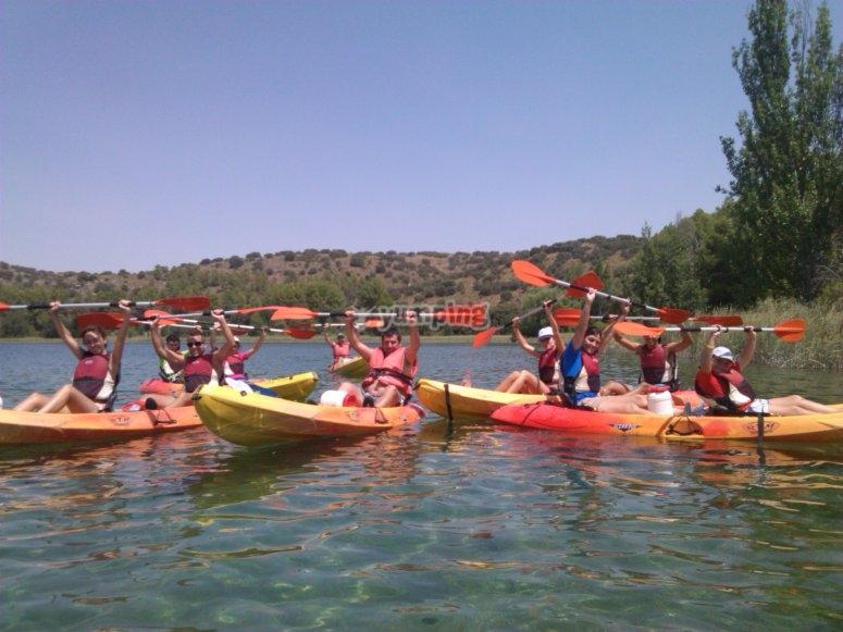 Divertimento in kayak