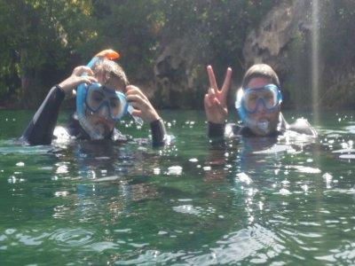 Travesía guiada de snorkel en Lagunas de Ruidera
