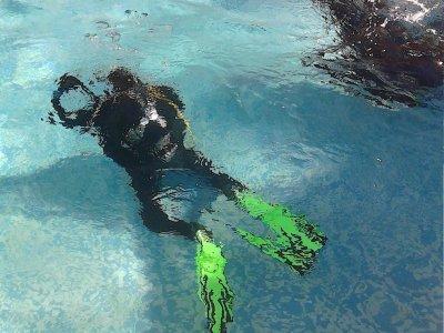 水肺潜水洗礼科斯塔布兰卡