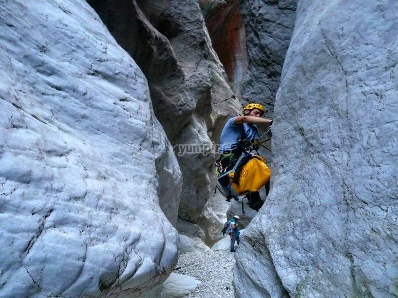 Corso di iniziazione all'arrampicata