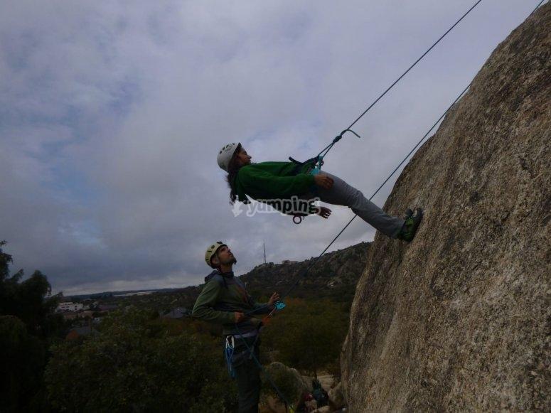 Impara ad arrampicare