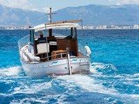 Ruta en barco por la costa mallorquín