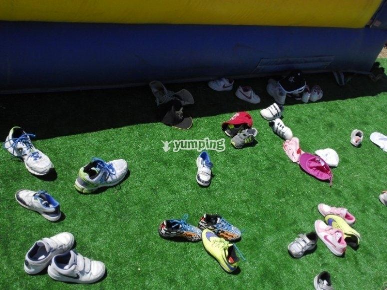Fuera el calzado