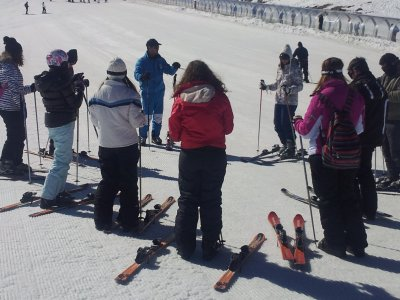 4-day Skiing course in Christmas, Sierra Nevada