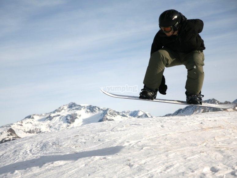 练习滑雪板