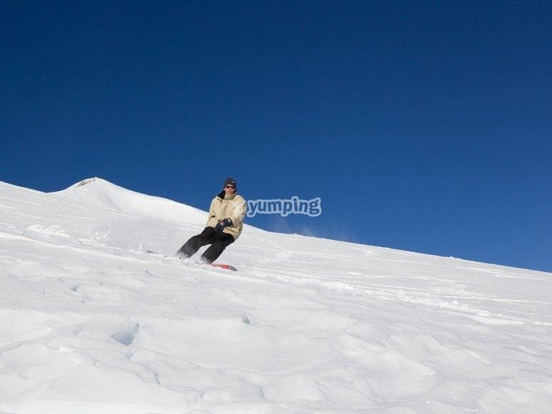 快来尝试滑雪板