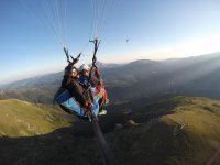 Aragonese Pyrenees from paragliding