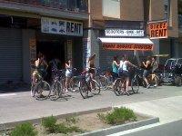 巴塞罗那的自行车路线