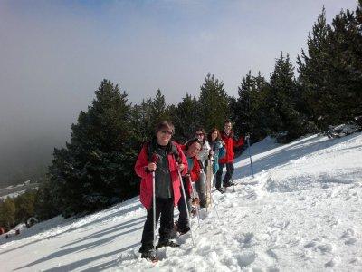 Excursión raquetas de nieve en Pirineo 1 día