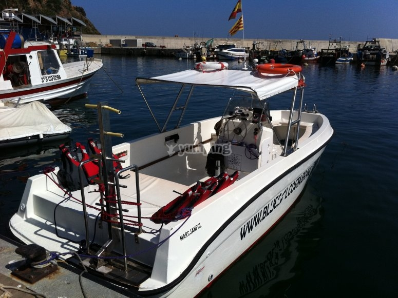 Bluesail boat Costa Brava