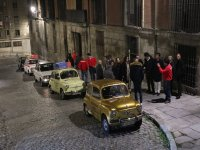 Night routes in historic vehicles