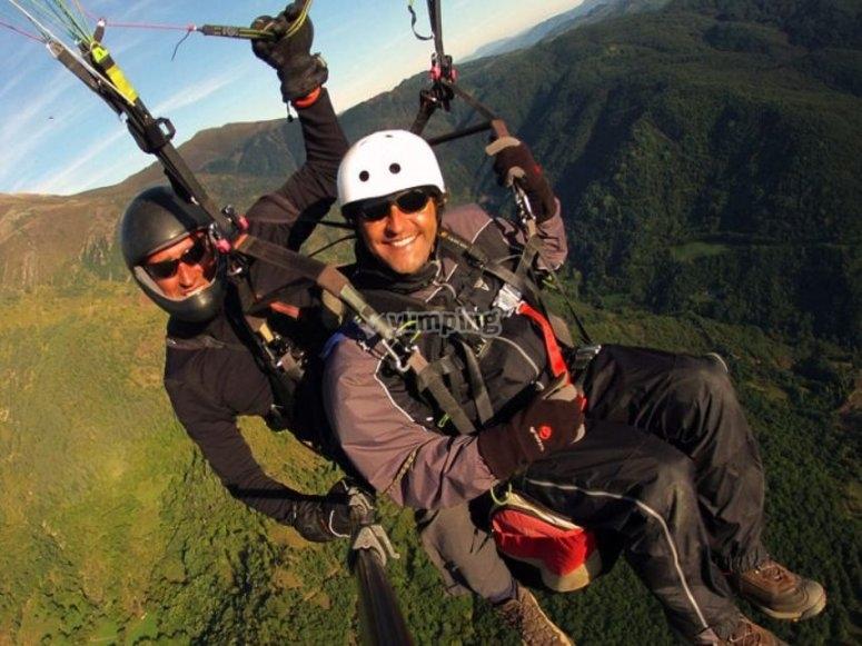 关于滑翔伞中的艾尔登德斯山脉