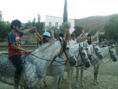 10 lezioni di equitazione, Las Gabias