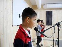 Workshop di canto nel campo