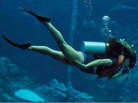 explorando fondos marinos