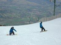 Cursillo de snowboard