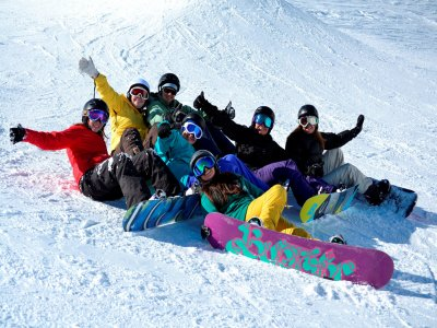 Private snowboard lessons, 2 hours, Astún