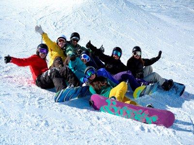 Lezioni private di snowboard 2 ore, Astún