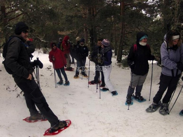 Excursion raquetas de nieve 4 horas