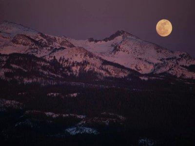 Raquetas bajo la luz de la luna en Cotos 4 h.
