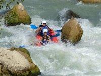 Whitewater kayaking in Murillo