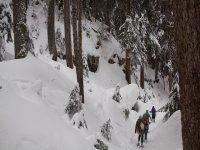 Rutas de raquetas de nieve en Madrid