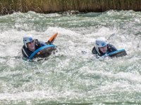 Descenso de hidrospeed en el rio en Murillo