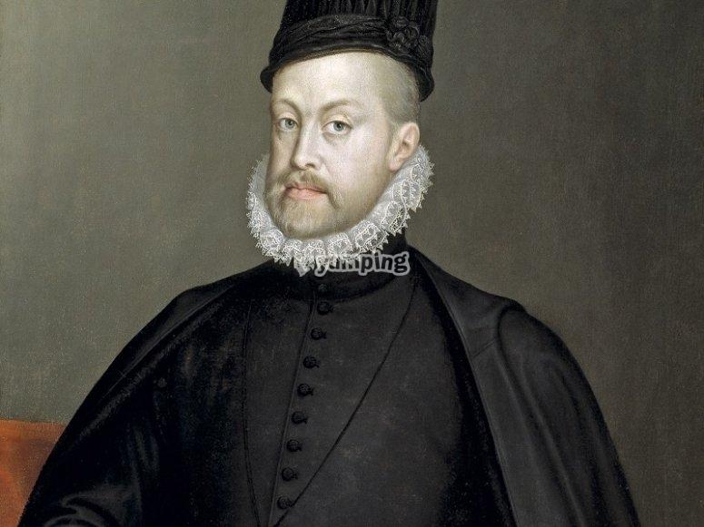 Cuadro de Felipe II