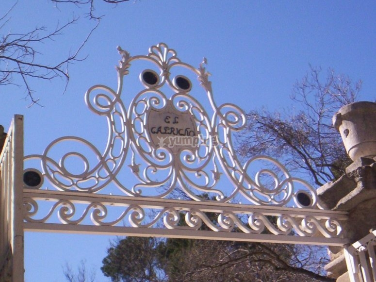 Entrance to El Capricho