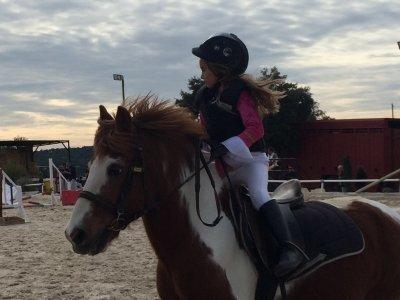 Clases de equitación, bono mensual, clases 25 min