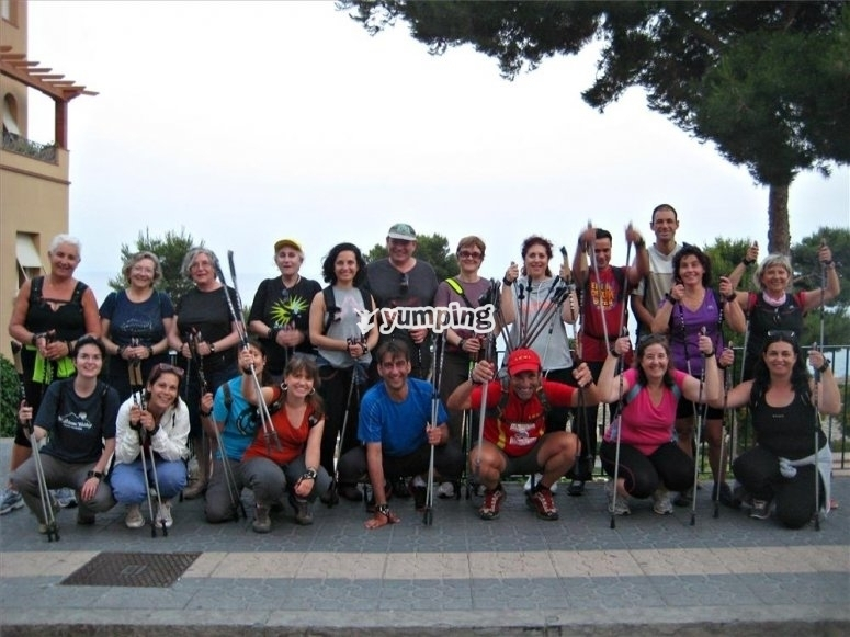 nordic walking 2 horas