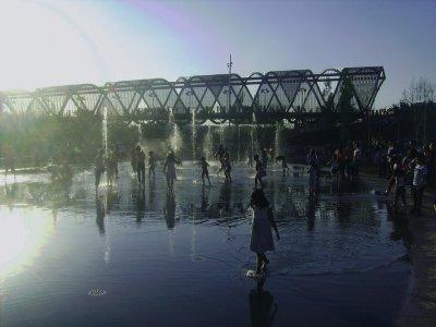 Bautismo de Nordic Walking por Madrid Río 2 horas