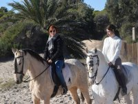Excursion a caballo en Sax