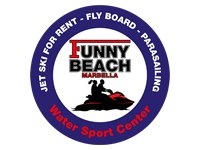 Funny Beach Parascending