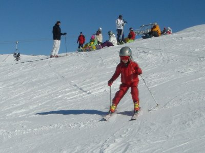 1-Day Skiing Course in the Sierra Nevada