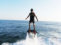 Controllo dell'ascesa del flyboard