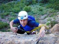 Ascent in the Murillo Ferrata