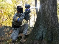 Paintball en la naturaleza