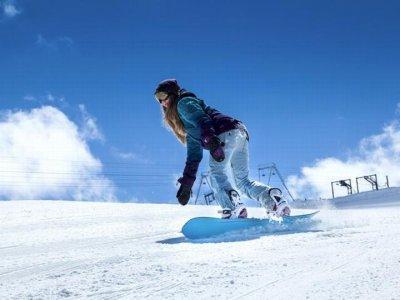 滑雪板PirineoCatalán的私人课程