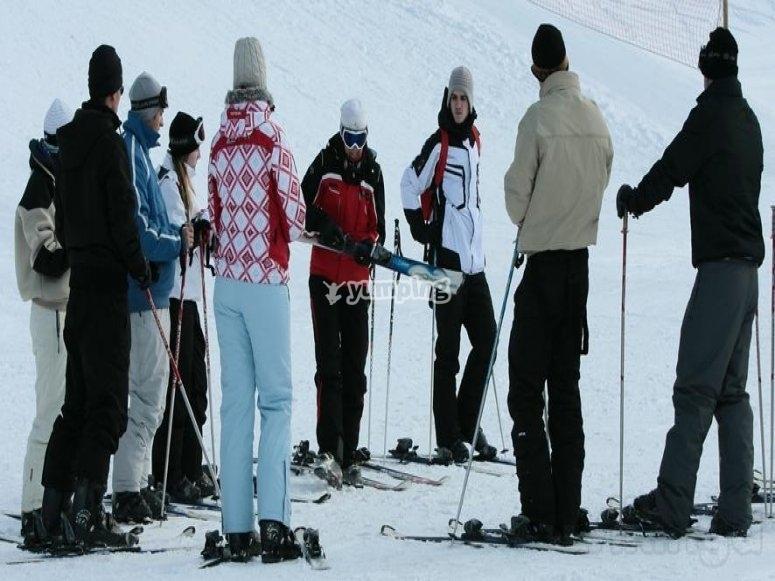 滑雪集体课程